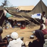 Refugees from Caxito were relocated to Luanda as part of this program.